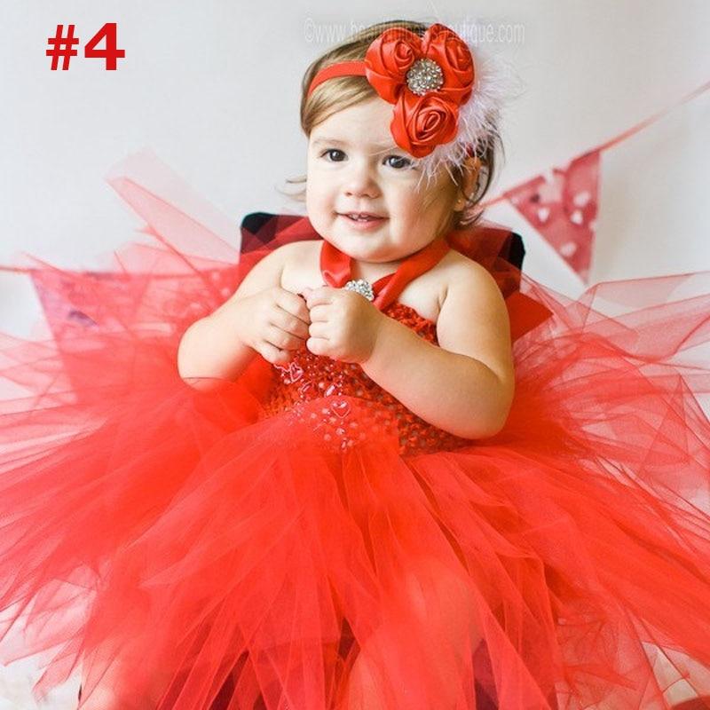 Niñas Rainbow Tutu vestido de hadas vestido de bebé mullido con - Ropa de bebé - foto 4