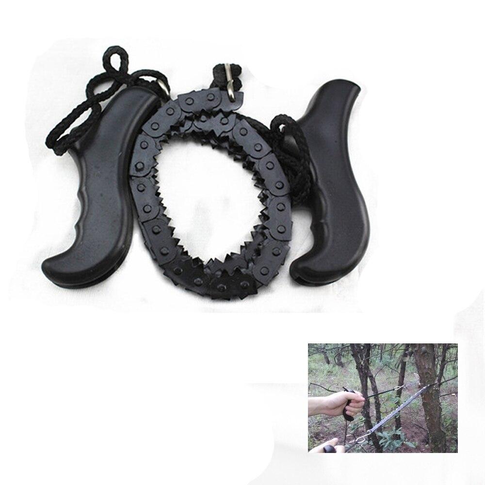 Outdoor Survival Tasche Getriebe Kettensäge Hand Sägen Kette Camping & Wandern Liefert Werkzeug