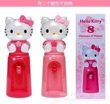 1 Stück 2,5 Liter Mini Wasserspender 8 Gläser Wasser-zufuhr Hallo Kitty Stil