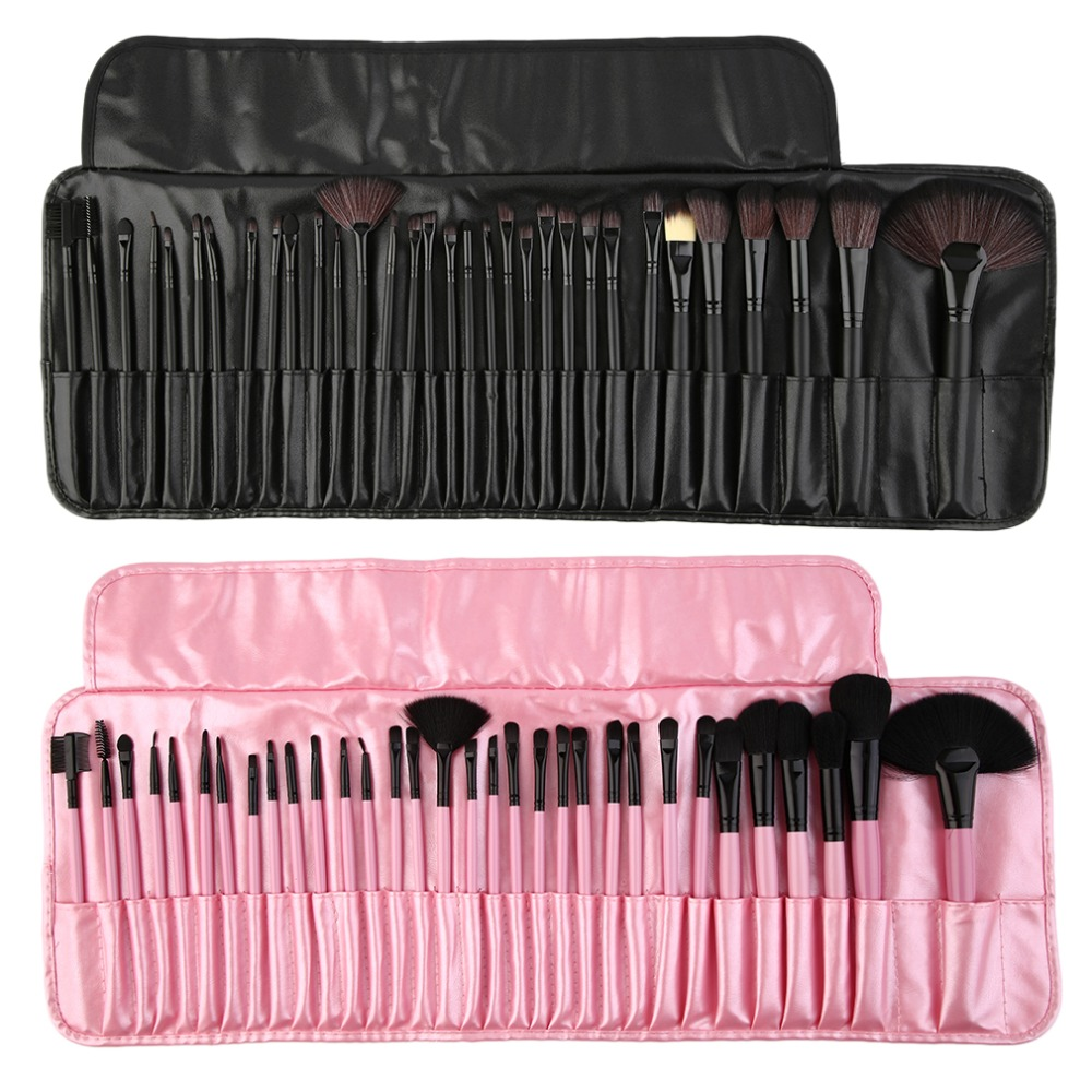 32 pieces Professional Make Up  brushes pack complete make-up brushes Suitable for professional use or personal use make up atelier екатеринбург