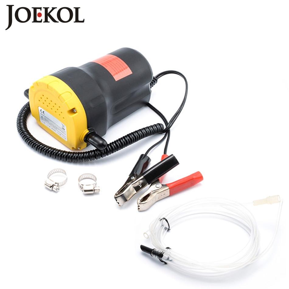 Pompa dell'olio motore, 12 v/24 elettrico Olio/Diesel Fluido Coppa Extractor Scavenging di Scambio di Trasferimento carburante di aspirazione pompa, Barca Auto Moto