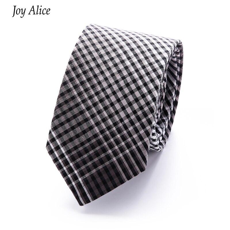 2018 Modemerk slanke 6 cm stropdas smalle katoenen stropdas voor - Kledingaccessoires - Foto 3