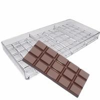 Шоколада чайник инъекций Жесткий ПК конфеты плесень поликарбоната развалится Bar Шоколад формы