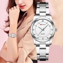 Women Quartz Wristwatches Small Casual Ladies Watch Top Brand Luxury Diamond Women Silver Steel Belt Waterproof Clock Gift Girls все цены