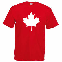 Canadian Maple Leaf T-Shirt - CANADA Mens Gift Idea / For Him RED Harajuku Tops Fashion Classic Unique t-Shirt gift