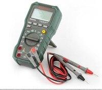 Mastech MS8250A Multimetro דיגיטלי המקצועי מודד החדש חשמלאי קיבול מד תדר לעומת Fluke F17B 15B