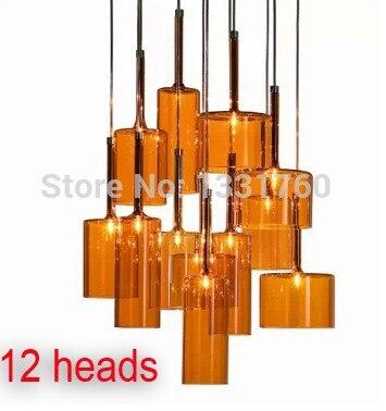 Spillray подвесной светильник из Axo Light Подвеска освещения современный стеклянные подвесные светильники столовая висит свет 10 12 глав