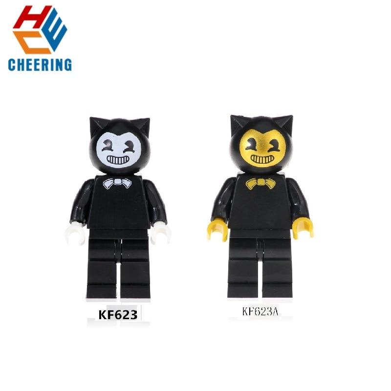 Single Sale Building Blocks Super Heroes Bricks Venom Wolverine Deadpool Action Figures For Children Education Toys KF623 KF623A
