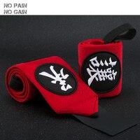 NO PAIN NO GAIN Support de Poignet Sport Bandage Main Sport Bracelet Chinois Style Gym Soutien Remise en forme du Poignet De Protection ZGFHW