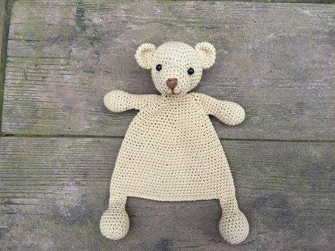 croche brinquedos amigurumi boneca artesanal urso numero hh011