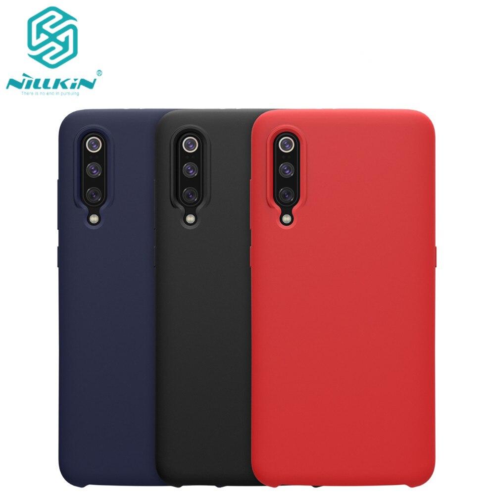 10pcs lot Wholesale NILLKIN Flex Pure CASE For Xiaomi mi9 Xiaomi Mi9 Explorer Liquid Silicone Rubber