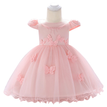 New Birthday Baby Dress Baby Girl Wedding Gowns Baby Girl Party Dresses 0-1-2 year Kids Girls New Year clothes