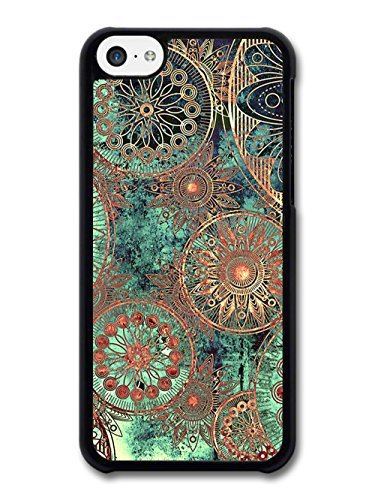 pretty nice 2f4e7 2eba1 US $3.33  Floral case Abstract Flowers Green Copper cellphone case cover  for iphone 5 5s 6 plus Samsung Galaxy S3/4/5/6 edge Note2/3/4/5-in Fitted  ...