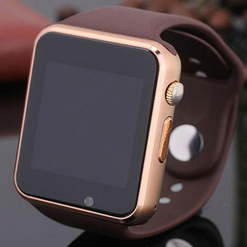 Hot Sale Golden Brown SmartWatch Bluetooth Smart Watch for ...