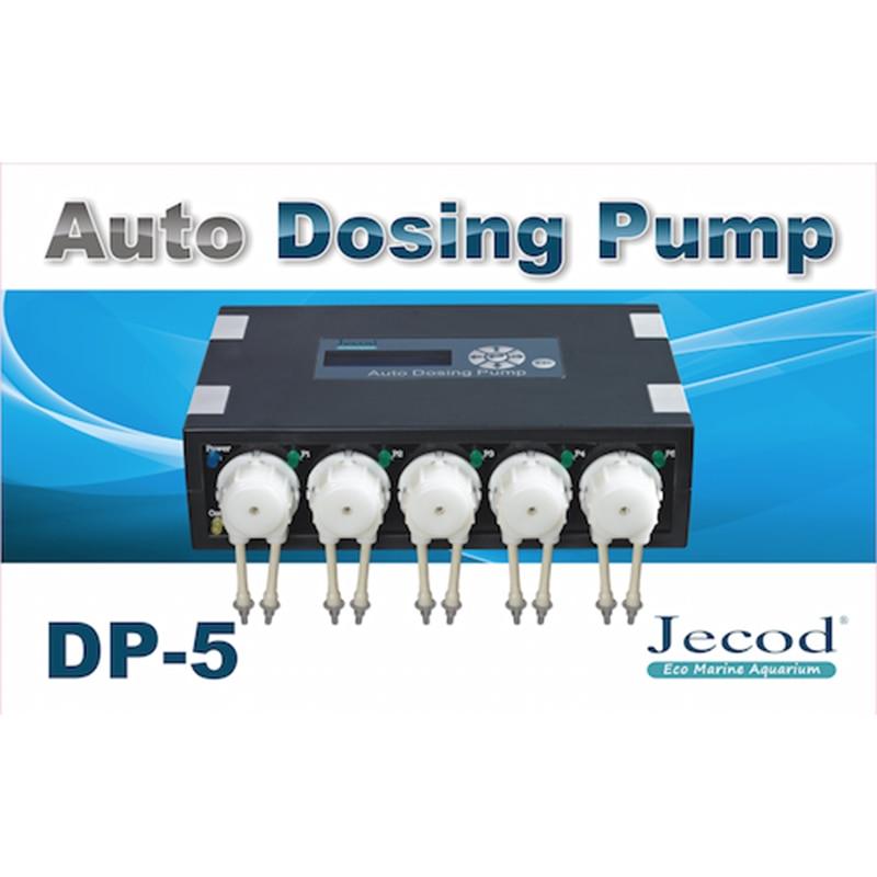 Jebao Jecod DP 5 Auto Dosing Pump Peristalsis Pump 5 Channel Doser Aquarium Tank Coral Reef