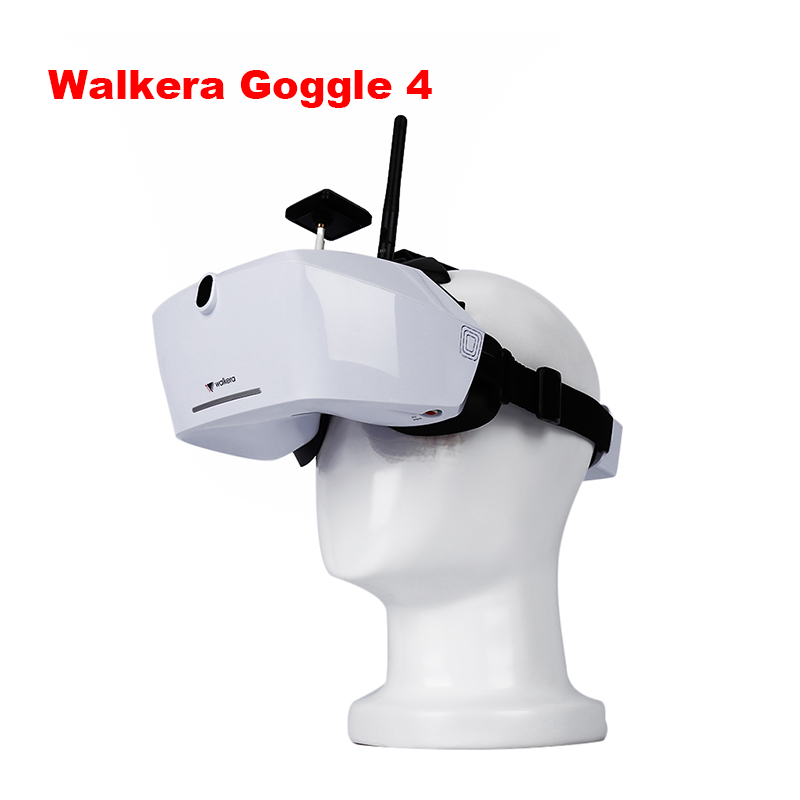 FPV Goggles Original Walkera Goggle 4 Goggles Glass FPV VR With 5 Screen 5 8G Antennas
