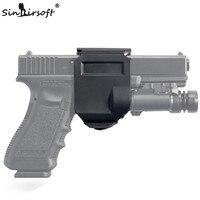 Тактический вращающийся 360 Глок клипа правой рукой Молл кобура для Glock 17 19 Airsoft Пейнтбол Охота Стрельба roto правой рукой