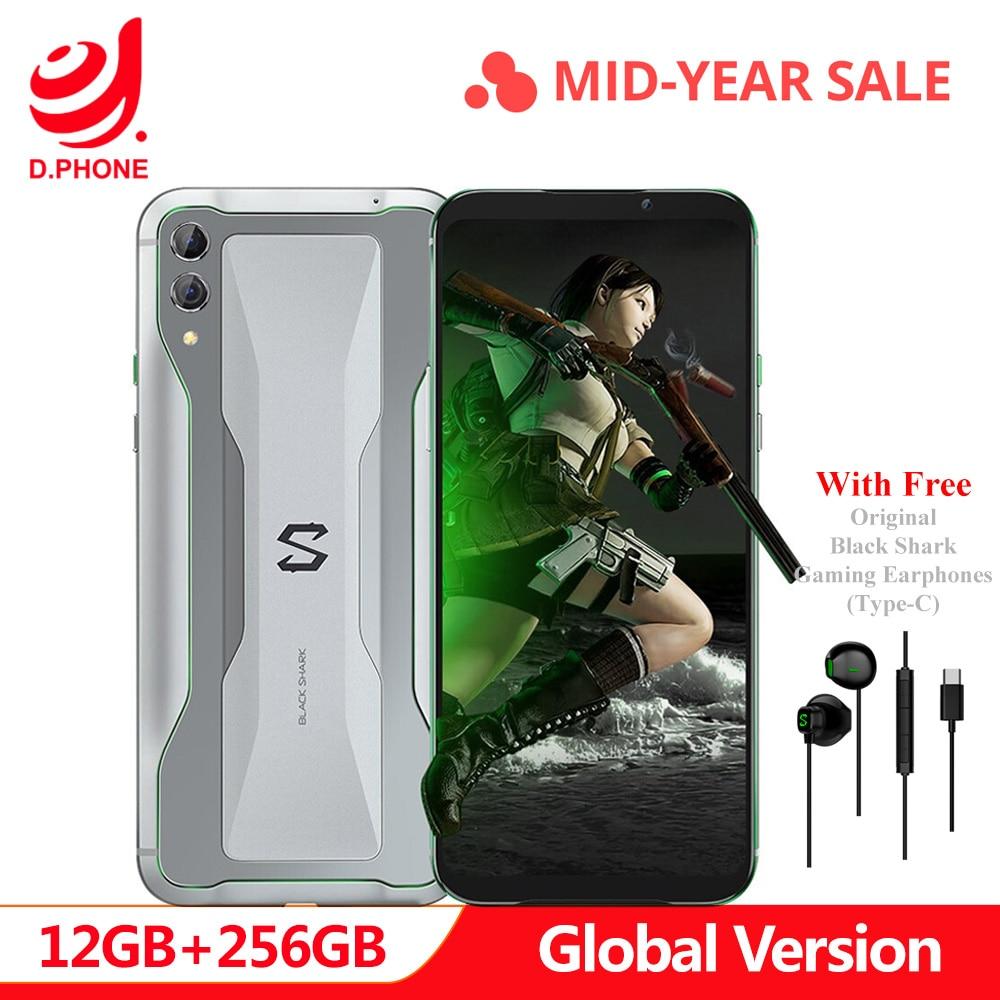 Original Global Versão Xiaomi Black Shark 2 12 GB 256 GB Gaming Telefone Snapdragon 855 Núcleo octa 6.39