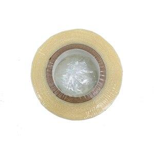 Image 4 - 3 jardy bez taśmy z połyskiem hurtownia koronki z przodu wsparcie mocna podwójna taśma do toupees lub peruk