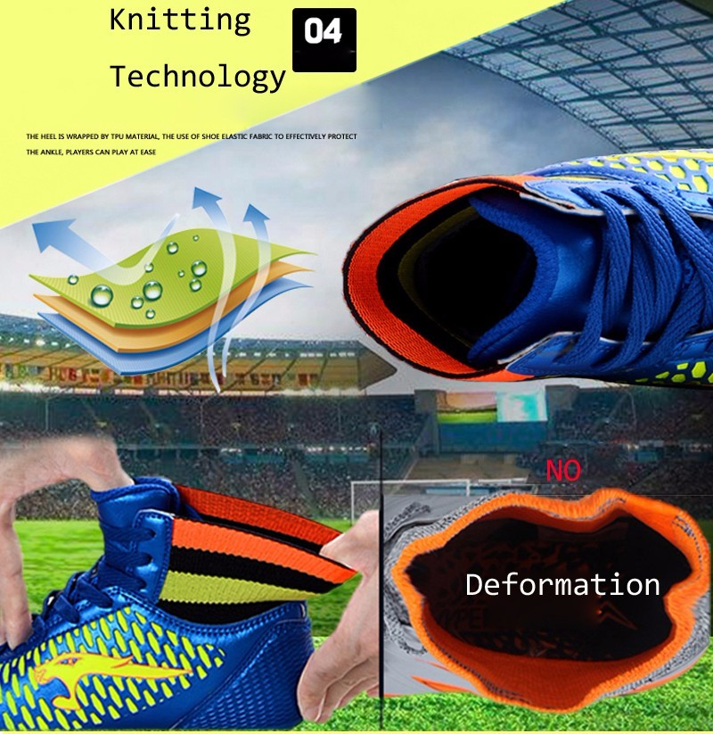 2017 High Ankle Superfly Boys Kids Football Boots Cheap Indoor Soccer Shoes Cleats Girls Sneakers High Quality voetbalschoenen4