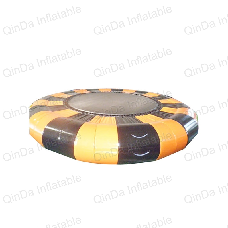Good quality inflatable water trampoline for sale,inflatable water floating,water jumps tramp sun trampoline 12