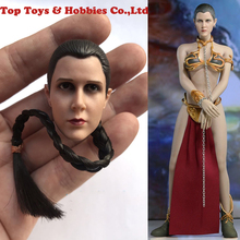 1/6 Leia Organa Solo head ATX015 Star Wars Princess Scale Head Sculpt and Clothes set No Body