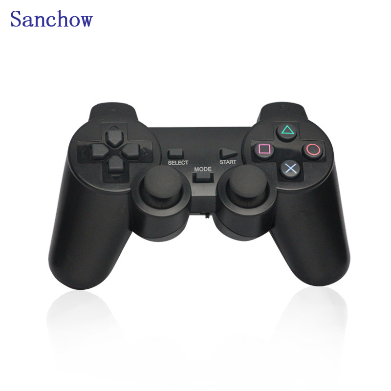 Sanchow hot 2.4G Wireless Gamepad PC For PS3 TV Box Joystick 2.4G Joypad Game Controller Remote For Xiaomi Android PC win 7 8 10