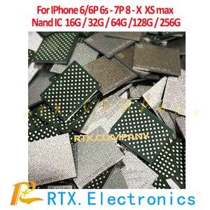 Image 4 - 512G Nand IC для IPhone Xs max EMMC флэш память IC с запрограммированным мобильный телефон схемы Ремонт Замена IC оригинальный чип