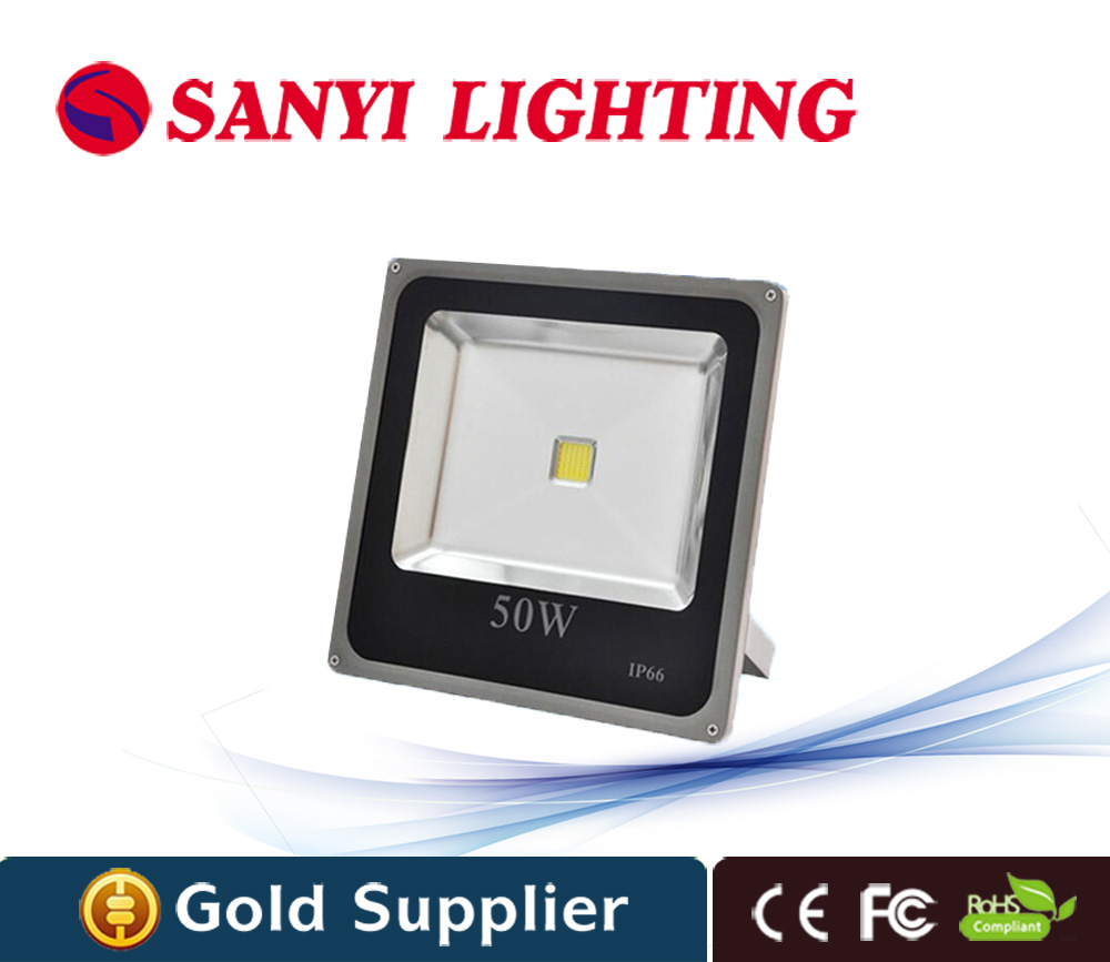 Ultrathin waterproof font b led b font floodlight 50w IP66 Waterproof AC85V 265V RGB font b