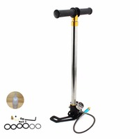 High Pressure PCP Pump Four Stage Brand New Style Hand Operated Air Pump 30mpa4500psi HPA Tank