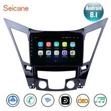 """Seicane 9 """"Android 8,1 unidad de la Radio del coche de GPS para 2011-2015 HYUNDAI Sonata i40 i45 apoyo TPMS sintonizador de TV cámara de copia de seguridad DVR SWC"""
