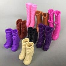 729cc2b4 9 estilos diferentes Original muñeca de moda botas Zapatos de tacón alto  accesorios para Barbie 1
