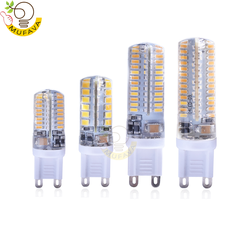 Led Bulbs & Tubes 1pcs/lot Led G9 3014 4014 2835 Smd Ac 220v G9 Led Lamp Silicone Lamps Chandeliers Lighting Products Are Sold Without Limitations