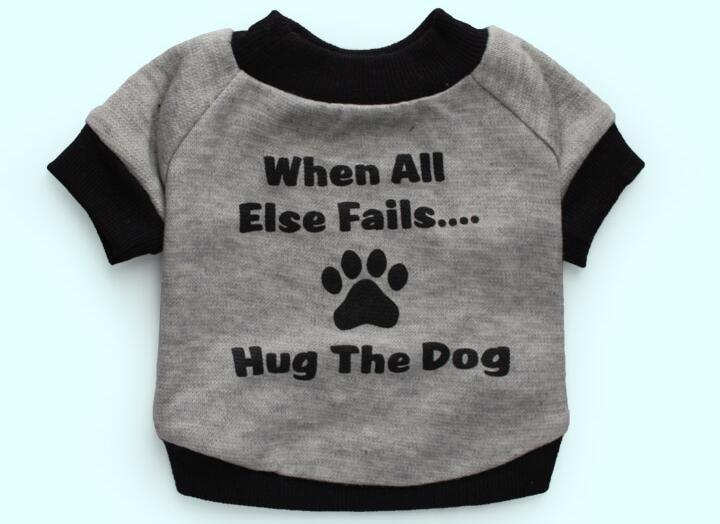 Pet dog cat fashion summer style vest clothes doggy t shirt clothing puppy vests costume dogs cats suit 1pcs XS S M L