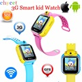 Latest3G Smart Watch Children Kid Wristwatch With Camera GSM GPRS GPS Locator Tracker Anti-Lost Smartwatch Guard For IOS Android
