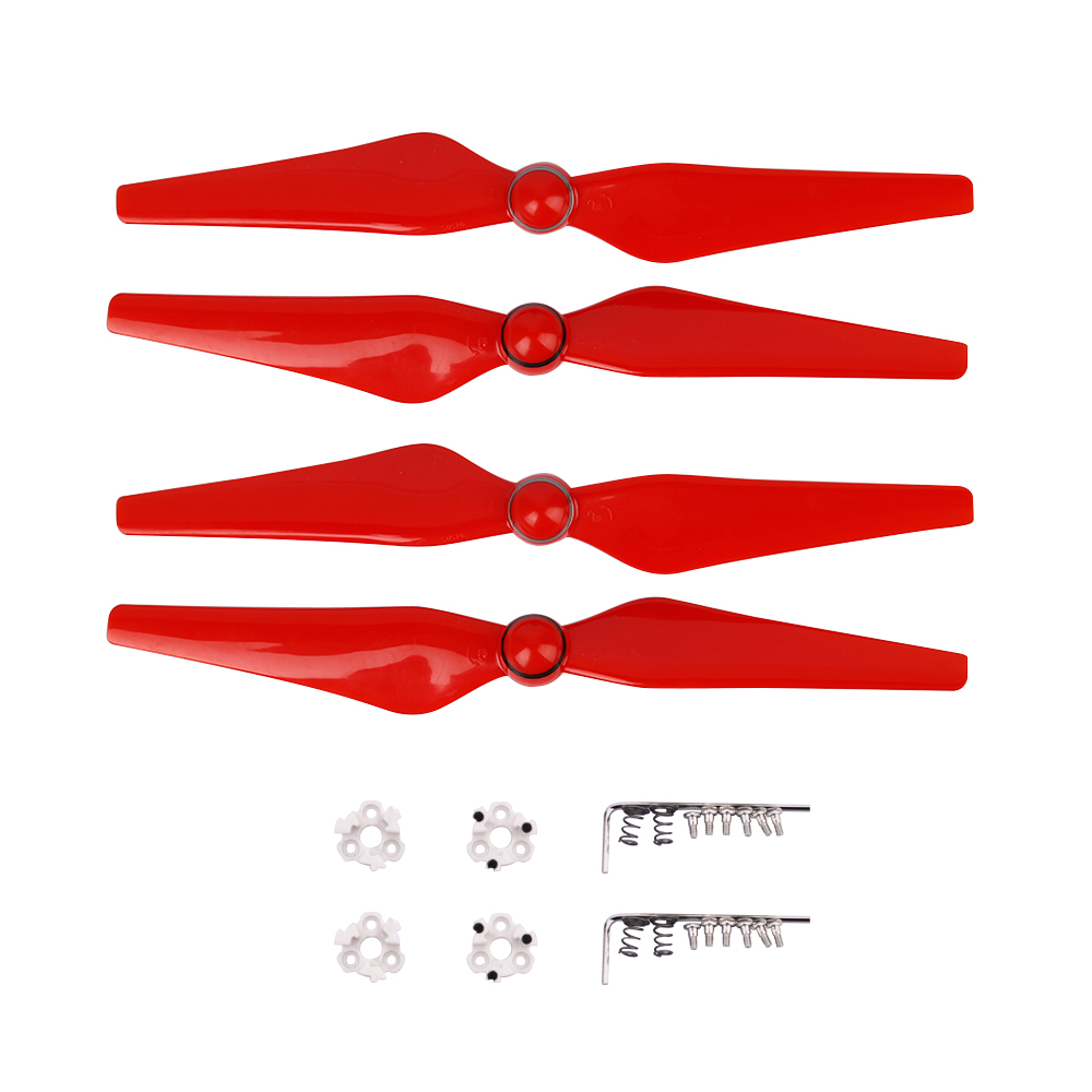 4pcs  9450S Propeller For DJI Phantom 4 PRO 4a Advanced Drone Quick Release Blade CC CW Props Wing With Mount Base Spare Parts