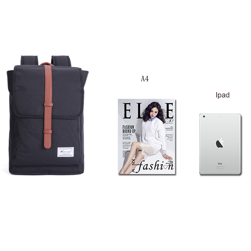Klsyanyo Laptop Bag 14 inch Casual Unisex Waterproof Oxford Backpack Big Capacity Rucksack Preppy School Bag Mochila Escolar