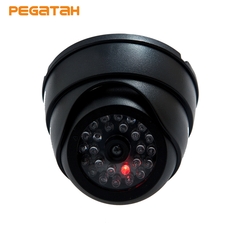 New Fake Dome Dummy Camera Fake Security Camera Dome Fake CCTV Surveillance Camera with Blinking Red LED New Fake Dome Dummy Camera Fake Security Camera Dome Fake CCTV Surveillance Camera with Blinking Red LED