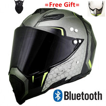 Motorcycle Bluetooth Helmet Headsets Intercom for riders BT Wireless  MP3 music with phone call AX8 cool