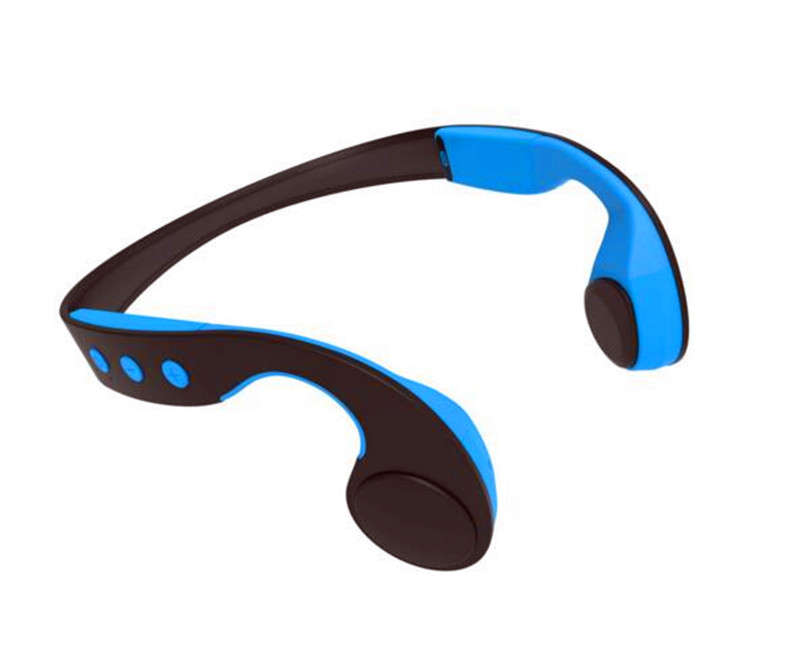 open ear water proof  free hand telephone bluetooth bone-conduction earphone with microphone for driving sports free basket derui sonic cleaners with multi function water proof dr p40 4l