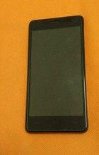 """Kullanılan orijinal lcd Ekran + Dokunmatik Ekran + Çerçeve OUKITEL K4000 Pro MTK6735P Dört Çekirdekli 5.0 """"HD 1280x720 Ücretsiz kargo"""