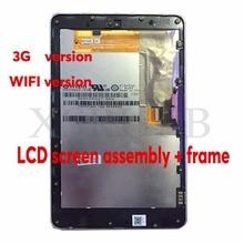 7 pulgadas utiliza Para ASUS Google Nexus 7 2012 ME370TG 3G o la versión Wifi pantalla lcd Táctil + digitalizador asamblea Completa Con marco