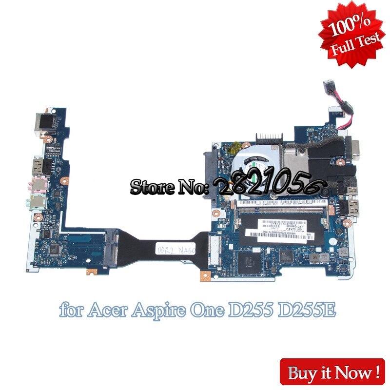NOKOTION PAV70 LA-6221P MBSDF02001 MB. SDF02.001 mère d'ordinateur portable Pour acer aspire one D255 D255E Atom N450 1.6 GHz carte mère