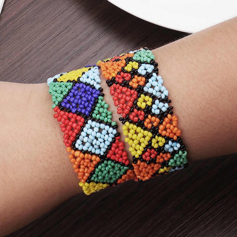 Artilady 3 плетеные браслеты дружбы в виде ракушки браслет Струны для женщин Бохо ручной работы плетеный веревочный подарок