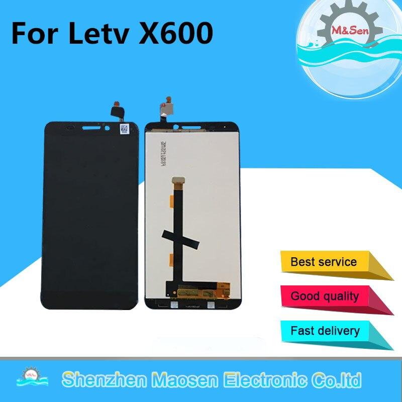 """imágenes para M & Sen Para 5.5 """"Letv Le Una X600 X608 digiziter pantalla LCD + el panel de tacto blanco o negro libre del envío"""