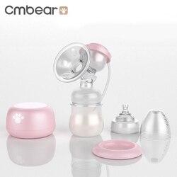 Cmbear Elektrische Brust Milch Extractor Pumpe Nippel Saug USB Baby Milch Brustvergrößerung Pumpe Mit Massage Stillen