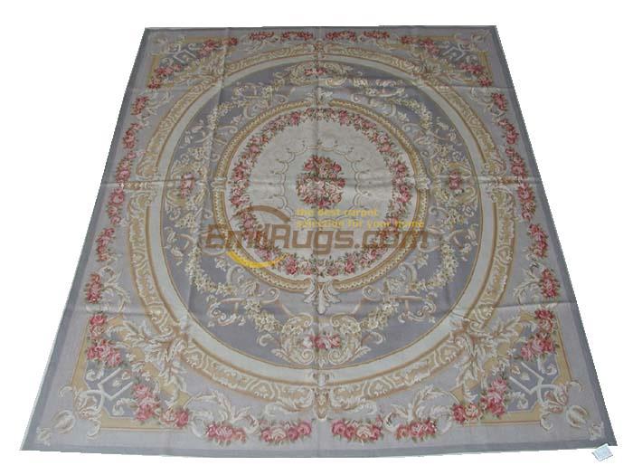 Tapis fait main tapis chambre tapis Aubusson tapis naturel laine de mouton tapis carré