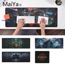 Maiya diablo замок край контроль скорости коврик для клавиатуры ноутбука игровой коврик для мыши xxl настольный ноутбук коврик для мыши геймер Настольный коврик