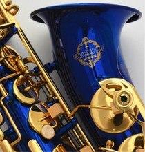 2018 Япония Suzuki абсолютно новый саксофон бемоль альт высокое качество синий альт саксофон с чехлом Professional Музыкальные инструменты