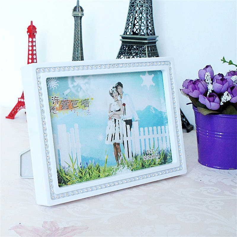 Modern Wedding Decor Rectangle Shape Frame Europe Lover Picture ...